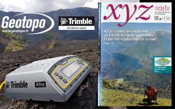 Article Geotopo dans la revue technique XYZ
