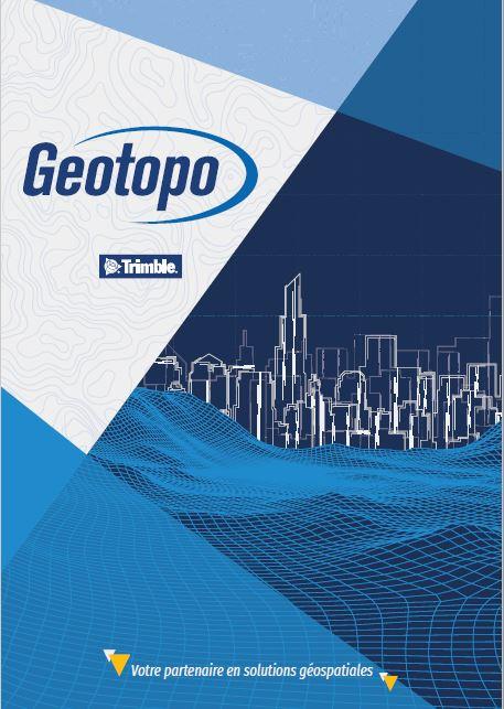 Couverture de la plaquette commerciale Geotopo