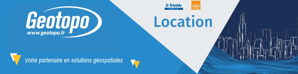 location materiel trimble geotopo